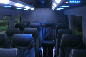 Inside The Voyage London Coach - Executive Travel in London